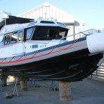 The Unsinkable boat at Gig Harbor Marina & Boatyard